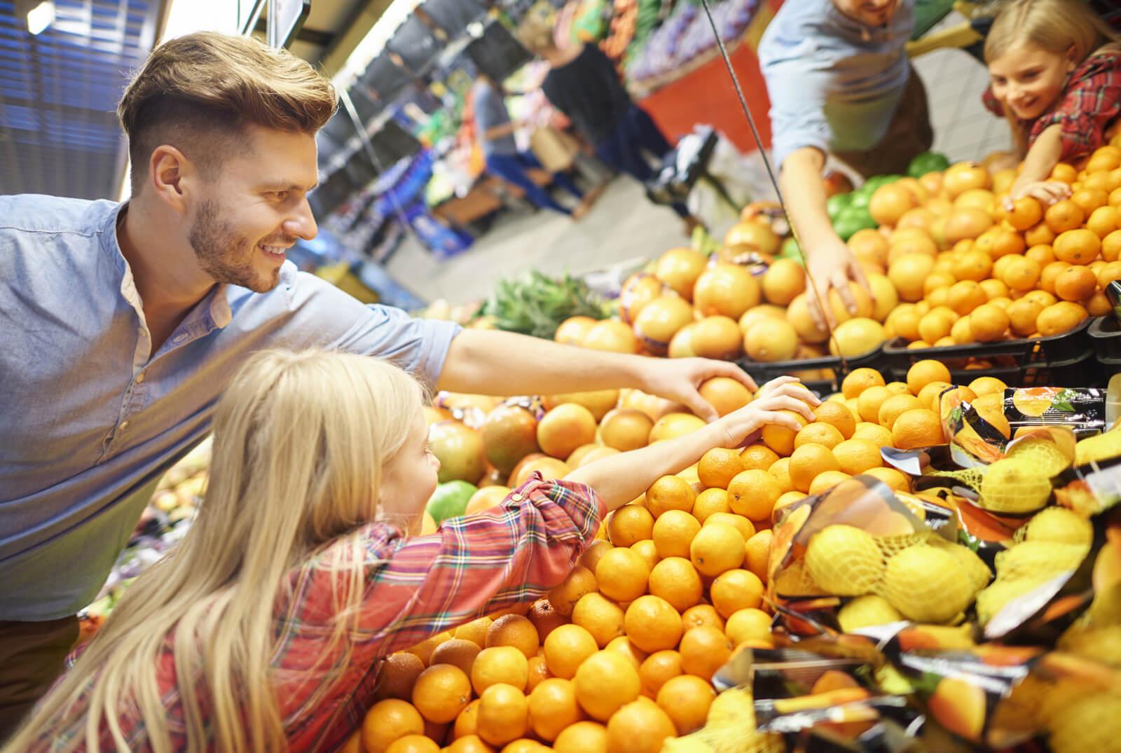Zdravo prehranjevanje se prične z nakupom