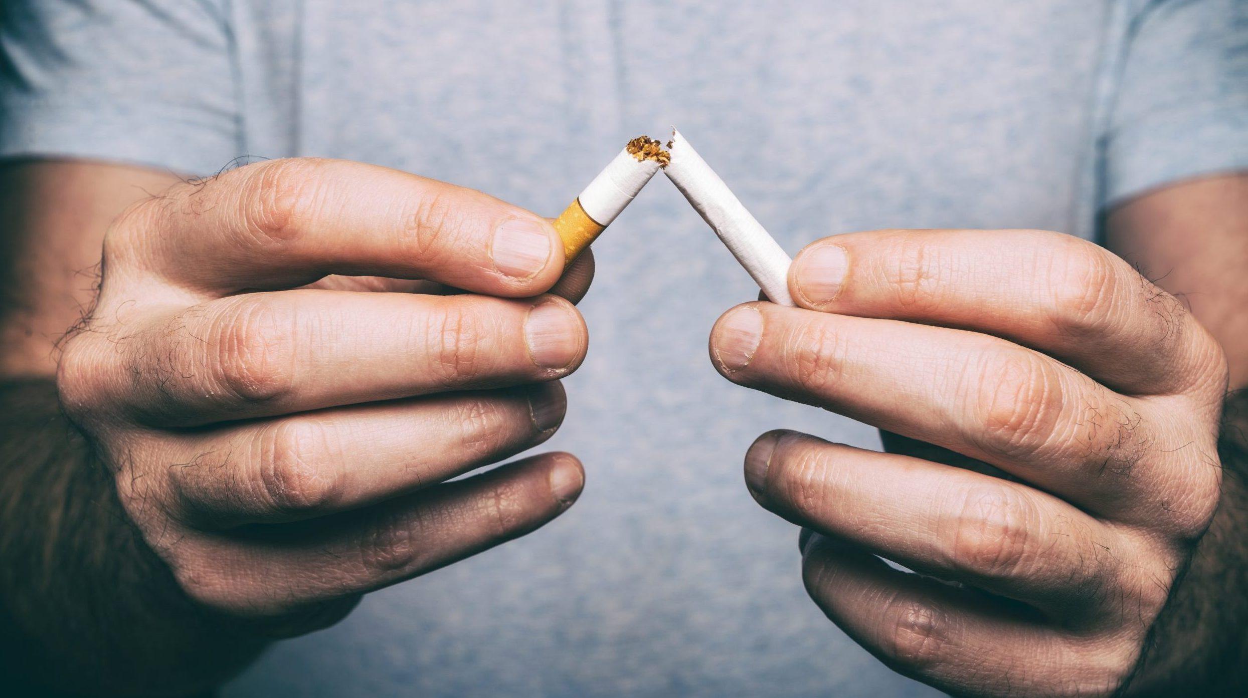 Razmislite o opustitvi rabe tobačnih in povezanih izdelkov v času epidemije COVID-19